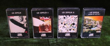 Led Zeppelin Four Tape Cassette Tape Collection in Naperville, Illinois