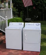 Washer and Dryer price for set-General Electric Huge Tub in Macon, Georgia