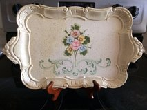 Decorative rectangle and round serving tray in Fort Leonard Wood, Missouri