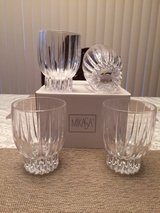 Mikasa Double Old Fashioned Glasses (Set Of 4) Crystal in Fort Leonard Wood, Missouri