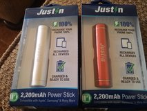 New power sticks in Sugar Grove, Illinois