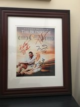 Blind Side Movie Poster w/ autographs in Naperville, Illinois