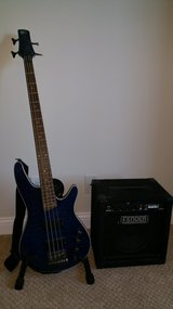 Bass Guitar w/ amp in Plano, Texas