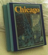 """2 Vol. """"Chicago - Center for Enterprise"""" First Edition 1982 in Naperville, Illinois"""