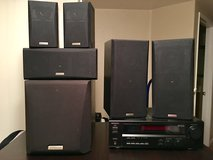 Kenwood Receiver & Speakers in Oceanside, California