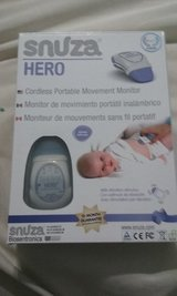 Snuza Hero portable baby monitor with two extra batteries in Perry, Georgia