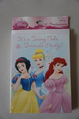 Disney Princess Party Invitations in Chicago, Illinois