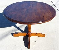Vintage Solid Pine Dining Table in Vista, California