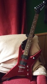 Jackson Electric Guitar and Amp in Houston, Texas