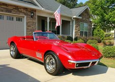 1969 Corvette Stingray Convertible in Warner Robins, Georgia