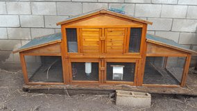 Extra Large 2 Story Rabbit Hutch in Ruidoso, New Mexico
