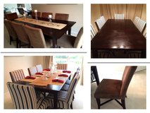 Crate and Barrel Hayden Table and Allegro Side Chairs in Naperville, Illinois