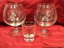 USMC glassware (wine/shot) in Lake Elsinore, California