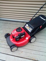 "Troy Bilt 21"" Tb110 push mower in Macon, Georgia"