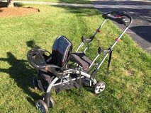 Baby trend sit to stand double stroller in Lockport, Illinois