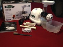 J8004 Omega Juicer Mastricating Nutrition Center / White in Conroe, Texas