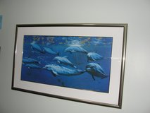 "LARGE ""DOLPHIN"" ARTIST DEE SMITH ART WORK 30"" X 50"" in Camp Lejeune, North Carolina"