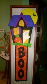 New halloween banner in Glendale Heights, Illinois