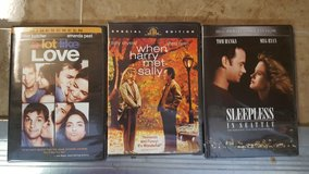 Dvds romantic comedies from 80s 90s in Fairfield, California