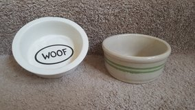 TWO PET BOWLS in Bolingbrook, Illinois