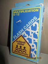 Multiplication 0-12 Flash Cards by School Zone in Joliet, Illinois