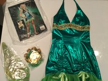 Medium green fairy with wings Halloween costume in Okinawa, Japan