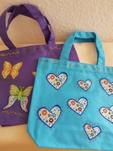 2 Handmade Bags With Hearts And Butterflies in Ramstein, Germany