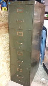 Vintage All Steel Aurora Filing Cabinet in Vacaville, California