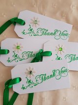 Thank You Gift Tags Handmade 9 Available in Ramstein, Germany