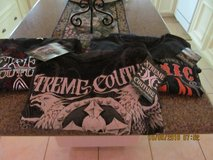 3 new with tags mens shirts very nice graphics on them (2xl) in Spring, Texas