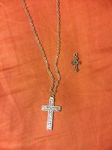 Cross Necklace and second cross in Okinawa, Japan