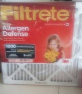 Brand New 6 Filtrete Micro Allergen Air Filter (Red Series) in Moody AFB, Georgia