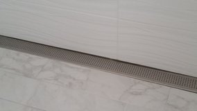 NEW 60 inch stainless steel chrome linear shower drain in Naperville, Illinois