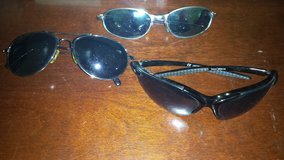 lot of men's accessories:,sunglasses,bracelets,necklace in Wilmington, North Carolina