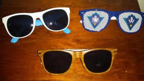 lot of men's accessories:,sunglasses, in Wilmington, North Carolina