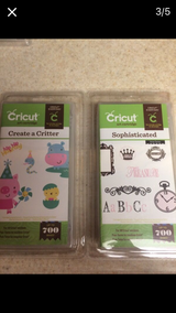 Cricut cartridges in Colorado Springs, Colorado