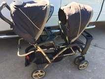 Reduced-Graco Quattro 2-DUO Double  Stroller in Lockport, Illinois