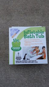 Inflatable bath tub in Oswego, Illinois