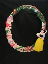 Vintage Disney Snow White & The Seven Dwarves Mirror in Naperville, Illinois