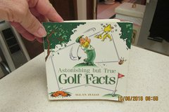 """Astonishing But True Golf Facts"" Book - Gently Used in Kingwood, Texas"