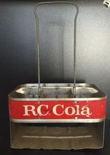 RC Cola Metal Bottle Carrier in Moody AFB, Georgia