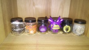 mini glass decors - Halloween in Spring, Texas