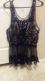 Beautiful Lace and Sheer Top NWT in Fort Leonard Wood, Missouri
