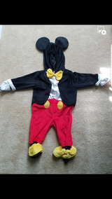 Like new mickey mouse infant costume in Baytown, Texas