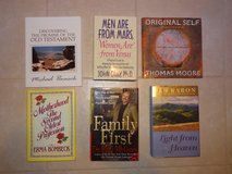collection of 30 self-help and inspirational books in Conroe, Texas