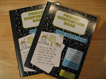 2 Primary Composition Books in Okinawa, Japan