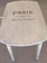 PARIS INSPIRED DROP LEAF TABLE in Davis-Monthan AFB, Arizona