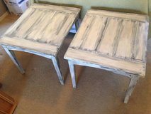 CREAMY WHITE AND BLACK END TABLES in Davis-Monthan AFB, Arizona