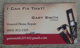 Home repairs and clean up. in Beaufort, South Carolina