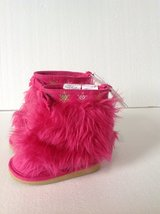 New! Gymboree Hot Pink Fur Boots 3 in Fort Campbell, Kentucky